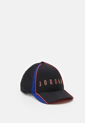 AIR - Cap - black/deep royal blue/track red