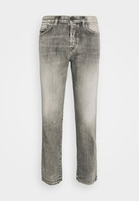 FINING - Straight leg jeans - washed black