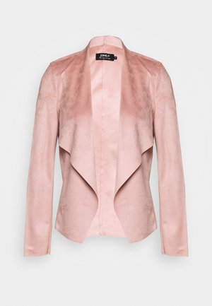 ONLFLEUR JACKET - Faux leather jacket - misty rose
