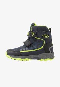 LICO - AINO - Winter boots - marine/schwarz/lemon - 1