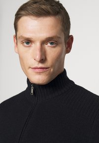 Marc O'Polo - TROYER ZIPPER - Jumper - total eclipse - 3