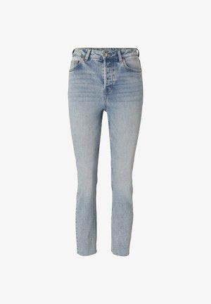 Slim fit jeans - used light stone blue denim