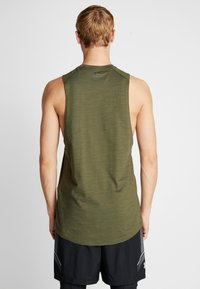 Under Armour - PROJECT ROCK CHARGED COTTON TANK - Top - guardian green/black - 2