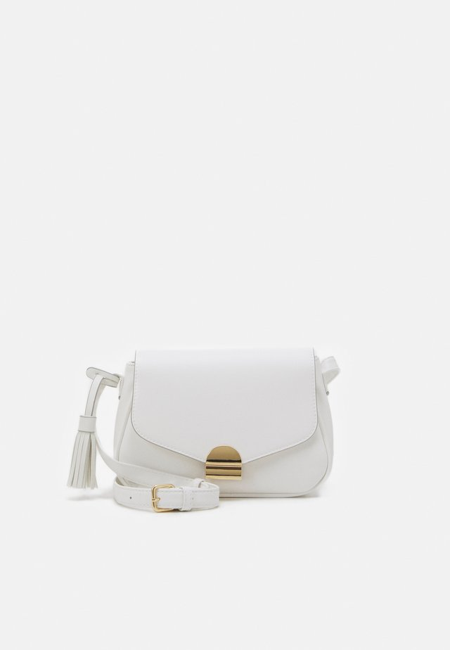 Across body bag - white