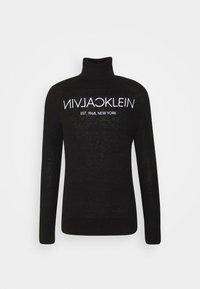 Calvin Klein - LOGO - Trui - black - 0