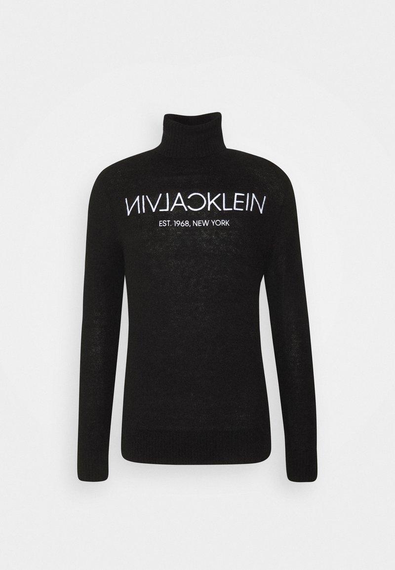 Calvin Klein - LOGO - Trui - black