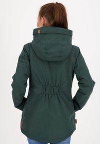 alife & kickin - NAOMIAK - Winter jacket - dark forrest - 2