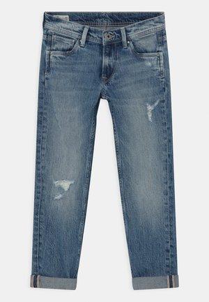 CASHED DESTROY - Jeans Slim Fit - denim
