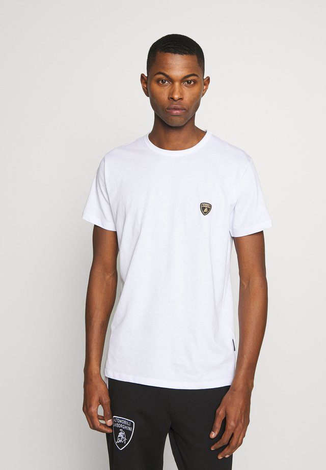 CREW SHIELD  - Print T-shirt - white
