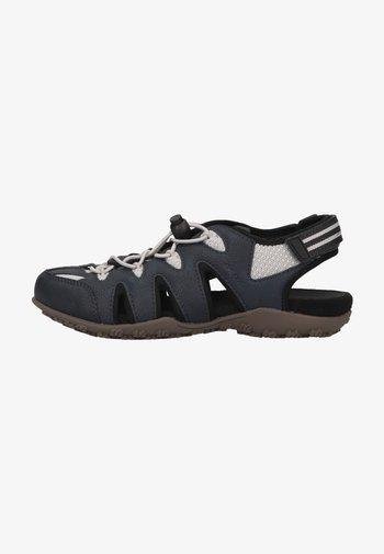 Walking sandals - navy/lt grey
