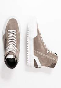 Kennel + Schmenger - ZOOM - Baskets montantes - taupe/bia/bronze