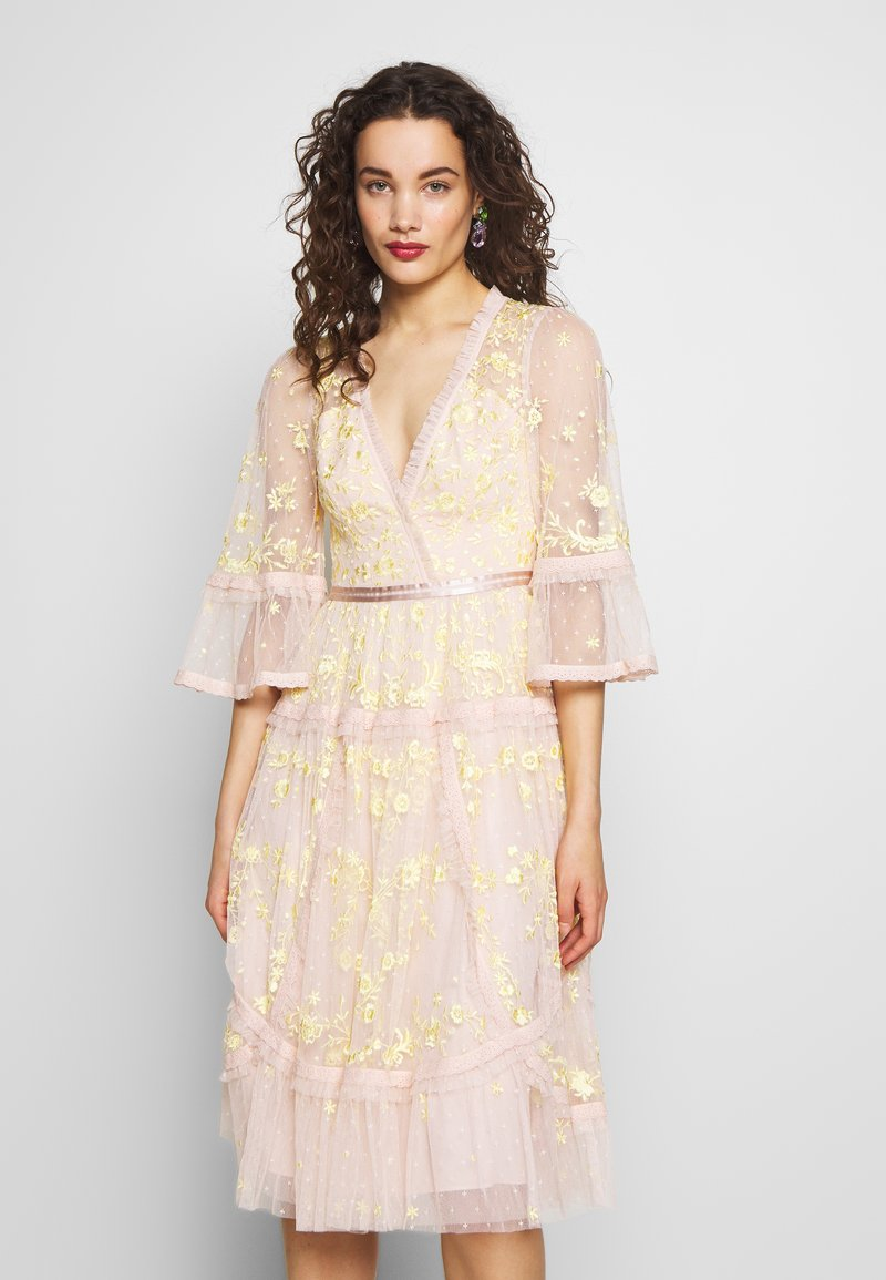 Needle & Thread - PENNYFLOWER DRESS - Cocktail dress / Party dress - pink