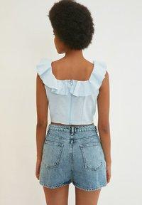 Trendyol - PARENT - Denim shorts - blue - 1