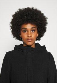 ONLY - ONLOLIVIA HOODED COAT - Classic coat - black - 3