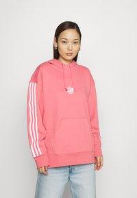 adidas Originals - HOODIE - Sweatshirt - hazy rose - 0