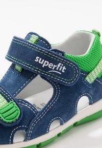 Superfit - FREDDY - Baby shoes - blau - 5
