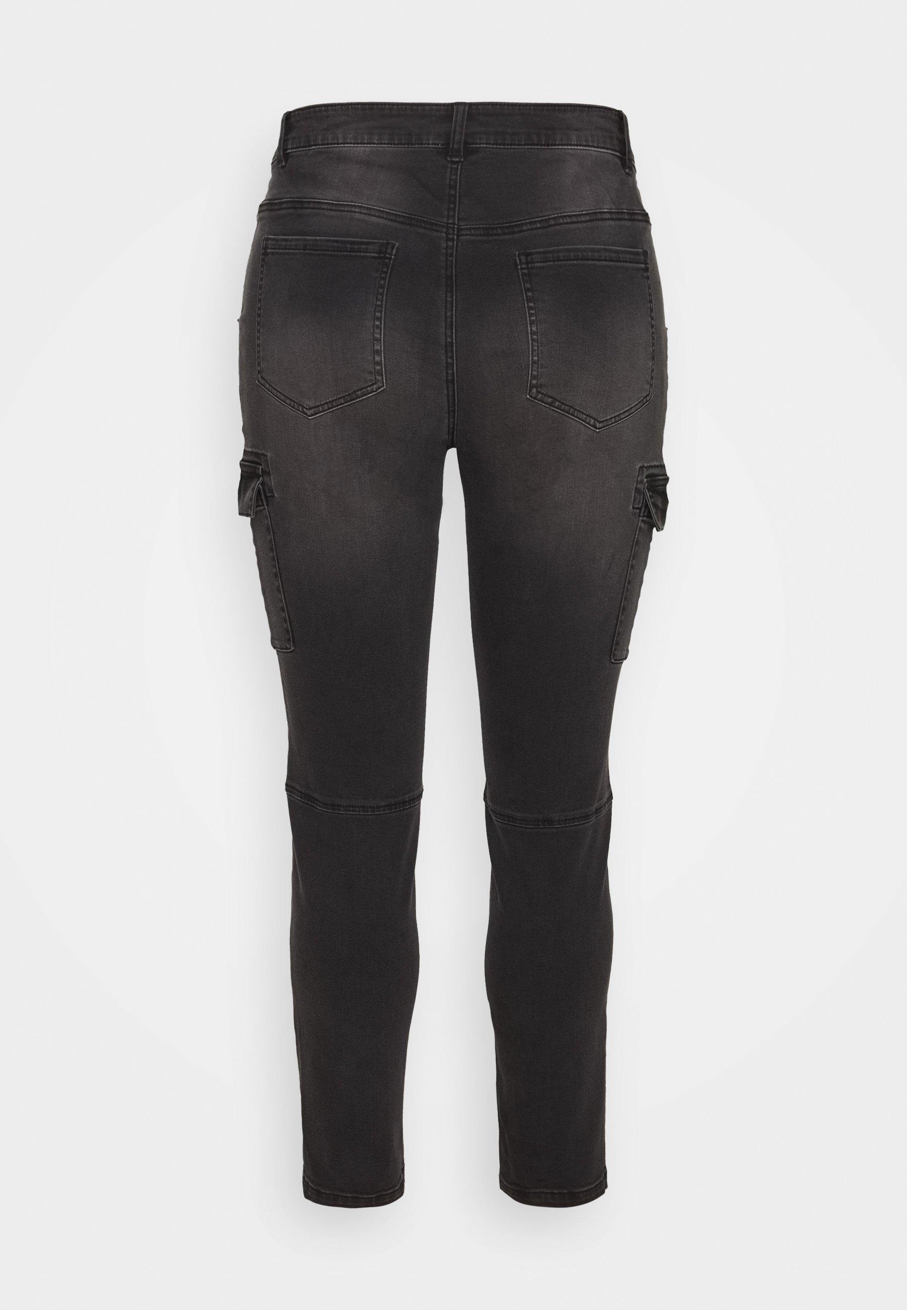 Kaffe Curve Jeans Skinny - black