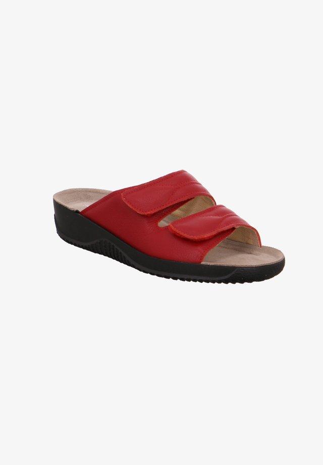 SOFTANA - Mules - red
