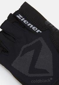 Ziener - CANSEN BIKE GLOVE - Fingerless gloves - black - 2