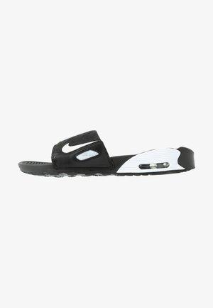 NIKE AIR MAX 90 DAMEN-SLIDES - Badesandale - black/white