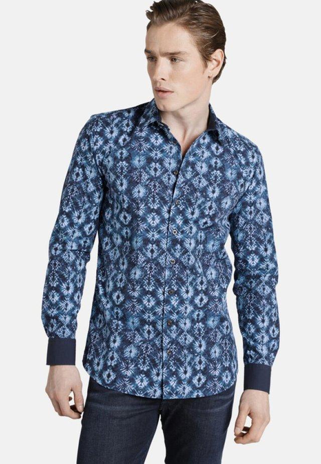 BATIC FLOWER - Overhemd - blue