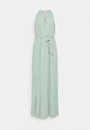 VIKATELYN HALTERNECK DRESS - Vestido largo - jadeite