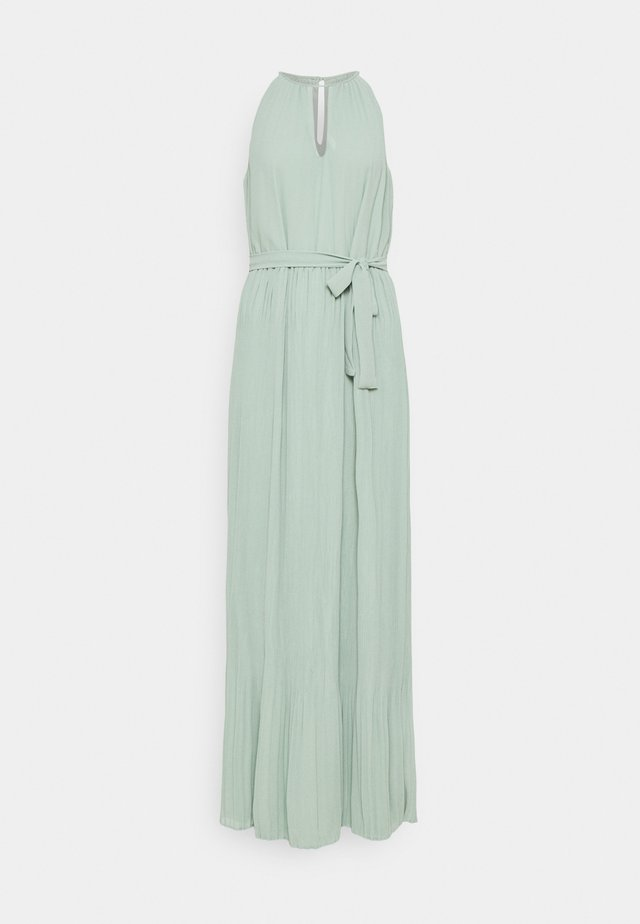 VIKATELYN HALTERNECK DRESS - Robe longue - jadeite