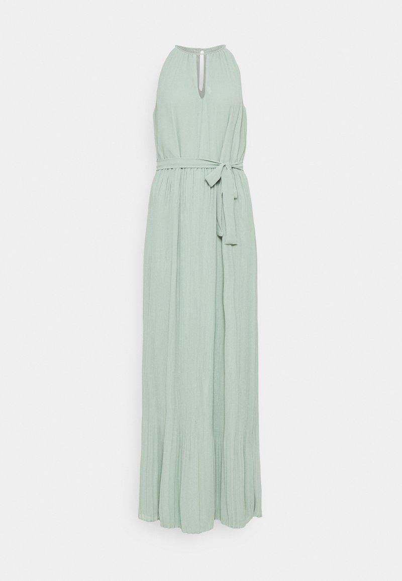 VILA TALL - VIKATELYN HALTERNECK DRESS - Robe longue - jadeite