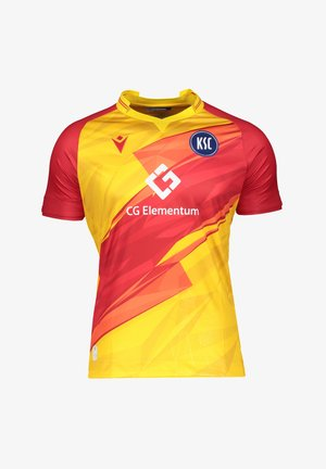 REPLICAS  NATIONAL KARLSRUHER SC AUTHENTIC - T-shirt print - yellow
