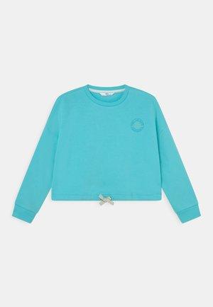 Sweatshirt - aqua