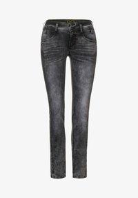 Street One - GRAUE  - Slim fit jeans - schwarz - 3