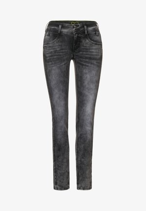GRAUE  - Slim fit jeans - schwarz
