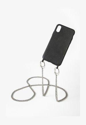 IPHONE 11 - BIOLOGISCH ABBAUBAR - BLACK MISTER T. SILBER HANDYKETTE - Phone case - silberfarben