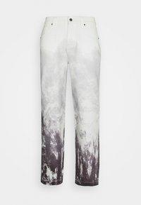 Jaded London - MOUNTAIN SCENE SKATE  - Jeans baggy - grey - 0