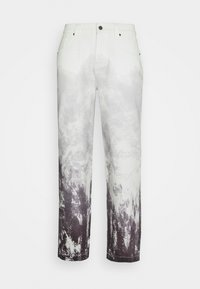 MOUNTAIN SCENE SKATE  - Relaxed fit jeans - grey