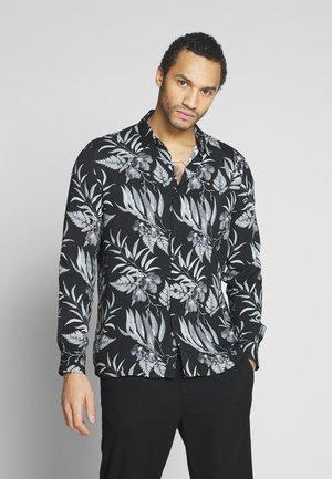MONO FLORAL NORSEN - Camisa - denim