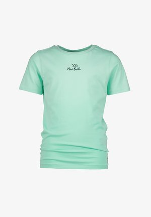 T-shirt print - active mint