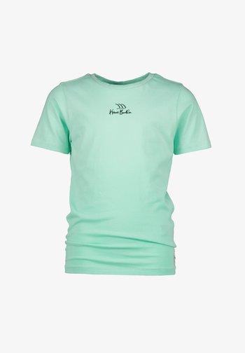Print T-shirt - active mint