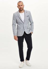 DeFacto - Blazer jacket - blue - 1