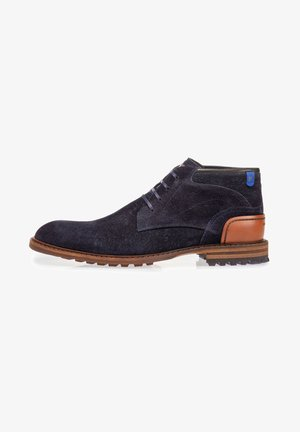 Lace-up ankle boots - darkblue