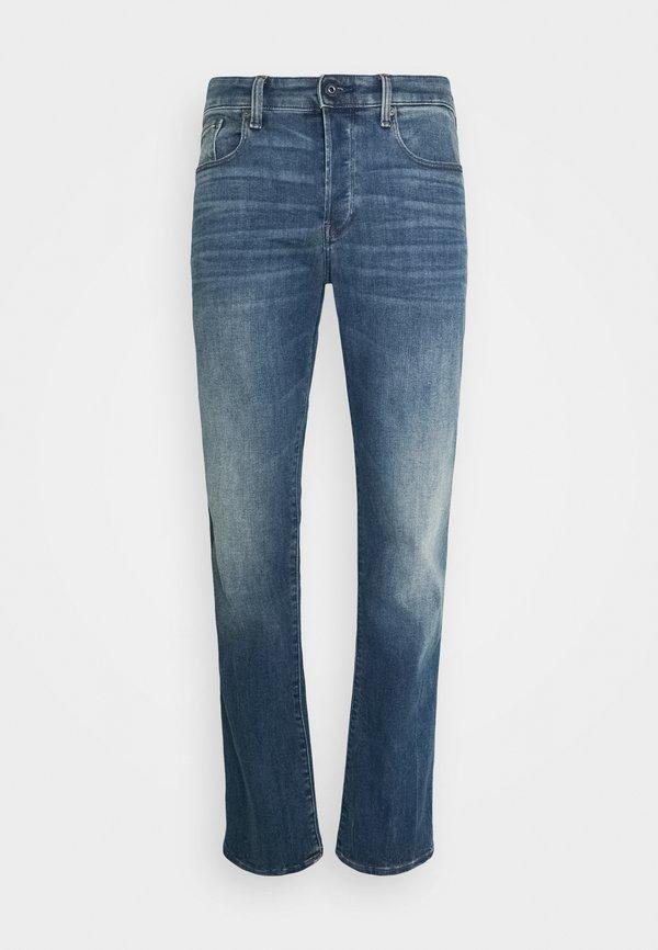 G-Star STRAIGHT - Jeansy Straight Leg - vintage medium aged/niebieski denim Odzież Męska PSVV