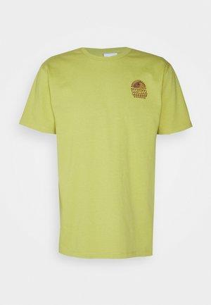 UNISEX SUNSPOTS - Print T-shirt - lime green