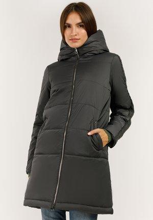 MIT KUSCHELIGER KAPUZE - Winter coat - dark grey