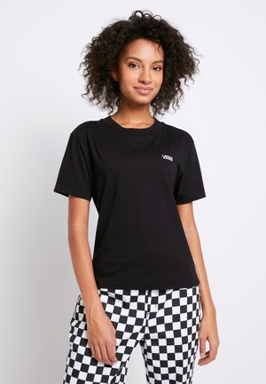 BOXY - T-shirt basic - black