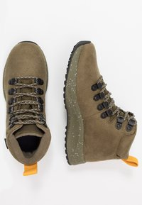 Native - APEX  - Lace-up ankle boots - utili green - 1