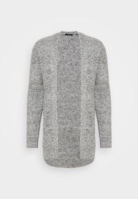 JPRBLAFREE OPEN CARDIGAN - Cardigan - light grey melange