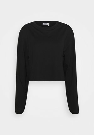 SMASH LONG SLEEVE - Long sleeved top - black