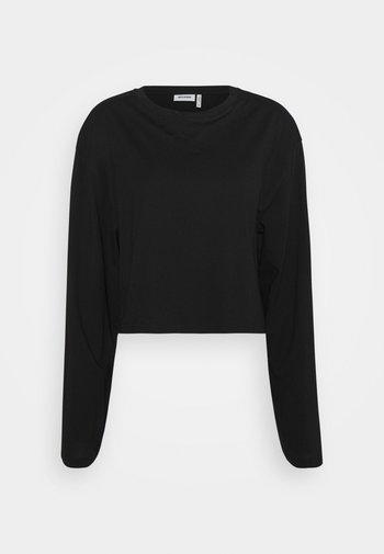 SMASH LONG SLEEVE - Camiseta de manga larga - black