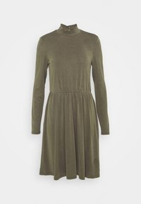 OBJNADIA ROSE SHORT DRESS - Jersey dress - forest night