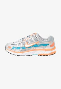 Nike Sportswear - P-6000 - Sneakers - metallic silver/white/hyper crimson/blue fury/black - 1